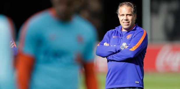 21/02 Langeler coach Jong Oranje