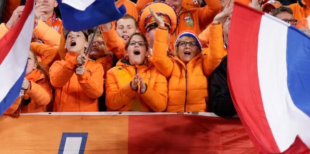 29/03 VIDEO: Opluchting bij Oranjefans